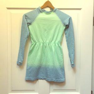 Girls ivivva active dress size 10 mint